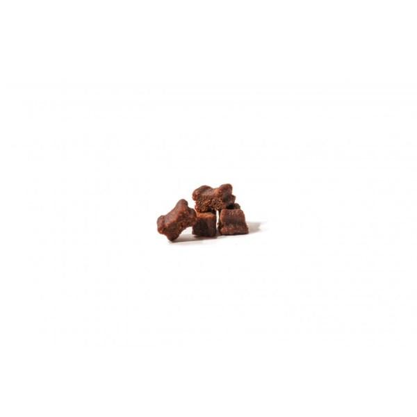 Hunde Softies - 5x Fleisch-Softies Lachs 200g - Leckerlies für Ihren Hund - Glutenfreier Hunde Snack