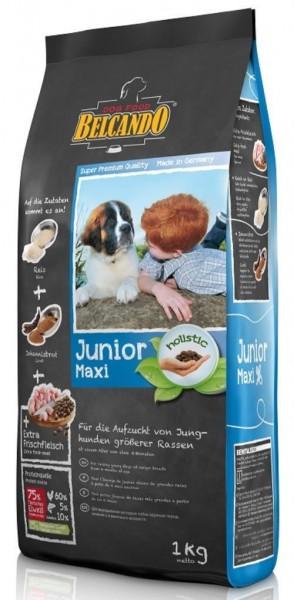 Hunde Trockenfutter - Junior Maxi mit Geflügel und Reis 1kg - Belcando Hundefutter - leichtverdaulich
