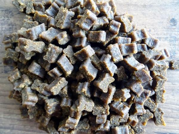 Hunde Softies - 5x Fleisch-Softies Strauß 200g - Leckerlies für Ihren Hund - Glutenfreier Hunde Snack