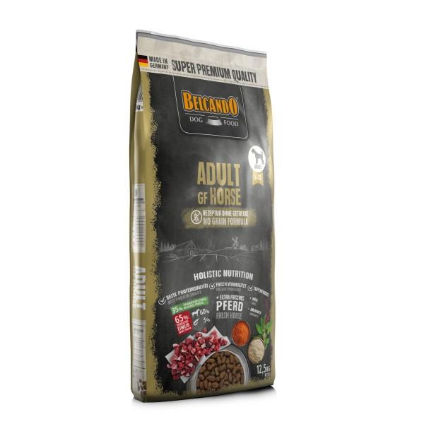 Belcando Adult GF Horse getreidefreies Hundefutter   Trockenfutter ohne Getreide 12,5 kg