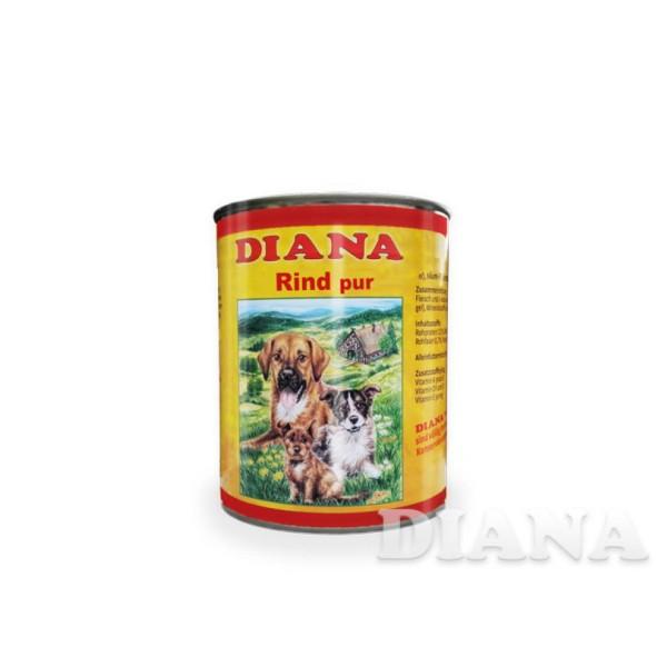 Diana Hunde Nassfutter - Fleischtopf Rind Pur - 800g - Alleinfutter
