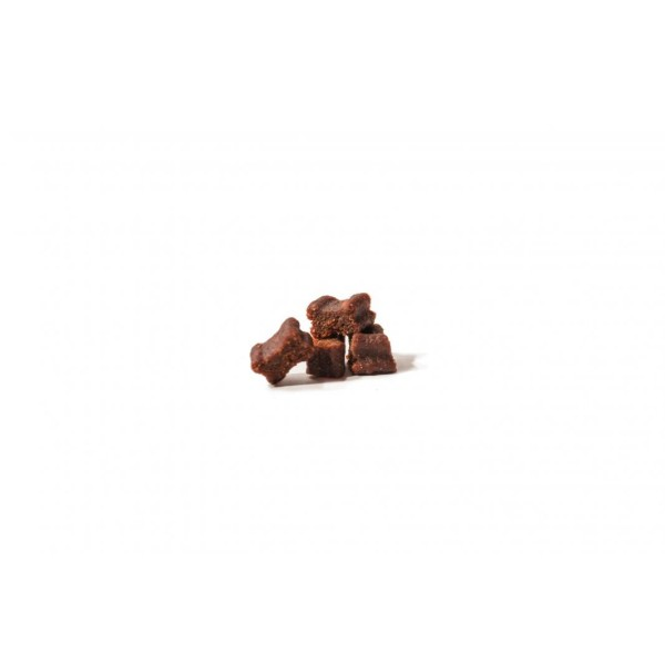 Hunde Softies - 1x Fleisch-Softies Lachs 200g - Leckerlies für Ihren Hund - Glutenfreier Hunde Snack